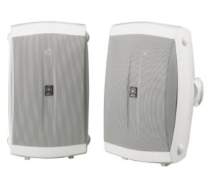 Yamaha NS-AW350W All Weather Indoor and Outdoor Speakers