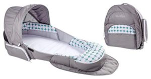 Baby Delight Snuggle Nest Traveler Bl, Diamond Lattice