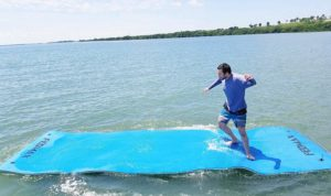 Fedmax Floating Mat for Lake or Salt Water