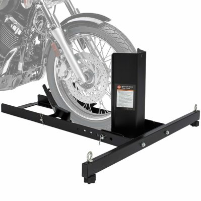 Best Choice Products Adjustable Motorcycle Stand Wheel Chock