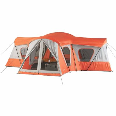 Spacious, Sturdy Easy Care, Store And Transport Ozark Trail Base Camp 14-Person Cabin Tent