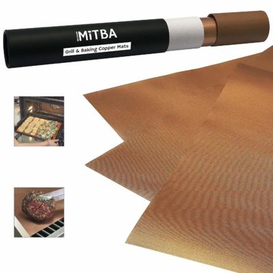 MiTBA Copper Grill Mats – Best Baking & Grilling