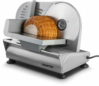 Gourmia GFS900 Professional Electric Power Food &Meat Slicer