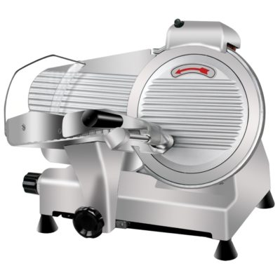 Super Deal Commercial Stainless Steel Semi Auto Meat Slicer