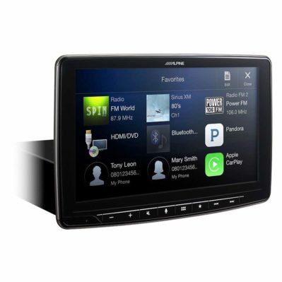 Alpine iLX-F309 HALO9 9 AM-FM-Audio-Video Receiver
