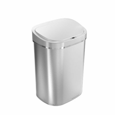 Ninestars DZT-80-35 Automatic Touchless Infrared Motion Sensor Trash Can