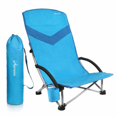 MOVTOTOP Folding Beach-Camping Chair