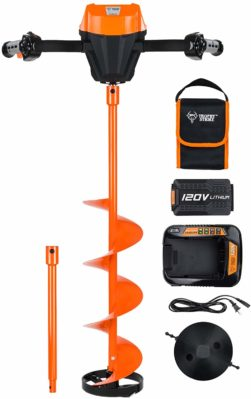 Trophy Strike 107387 120V Li-Ion Cordless Ice Auger