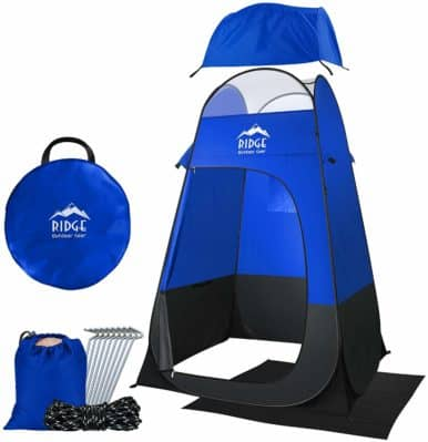 Ridge Outdoor Gear 6.5 Ft Pop Up Changing Shower Privacy Tent