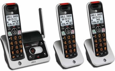 AT&T CRL82312 3-Handset Expandable Cordless Phone with Answering System
