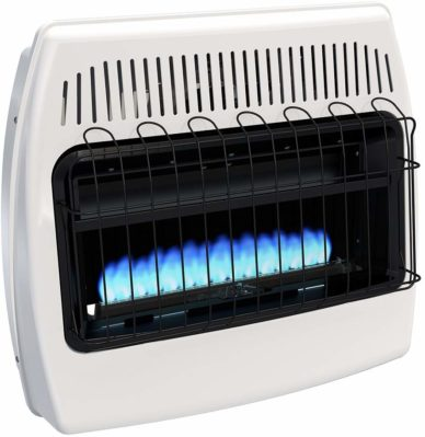 Dyna-Glo BF30NMDG 30,000 BTU Natural Gas Blue Flame Vent Free Wall Heater