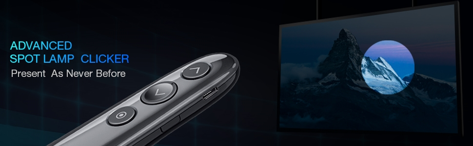 DinoFire Wireless Presenter