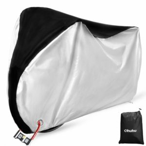 Ohuhu Bike Cover Waterproof Outdoor Bicycle Cover