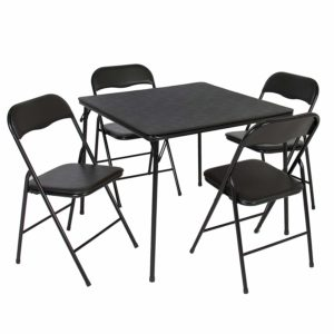 Best Choice Products 5PC Folding Table and Chairs