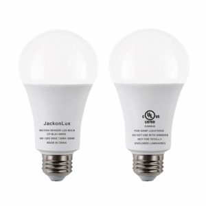JackonLux Motion Sensor Light Bulb