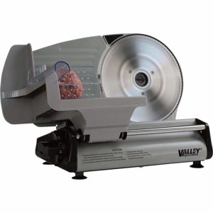 Valley Sportsman Stainless Steel Electric Food and Meat Slicer