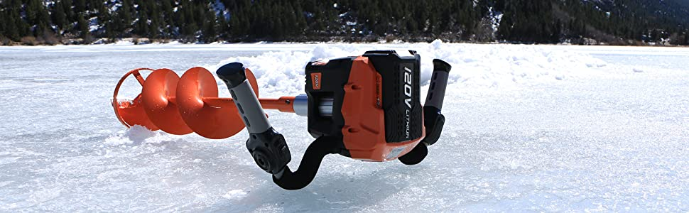 Trophy Strike Ice Fishing Augers