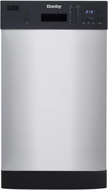 Danby DDW1804EBSS Built in Dishwasher
