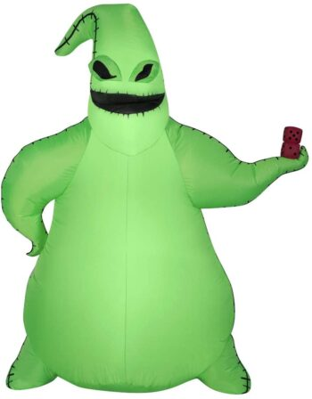 Gemmy Airblown Inflatable Oogie Boogie Halloween Inflatable