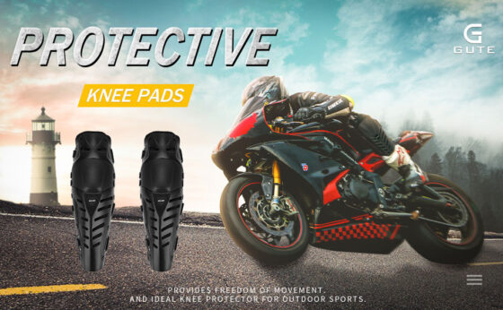 GuTe Motorcycle Knee Pads