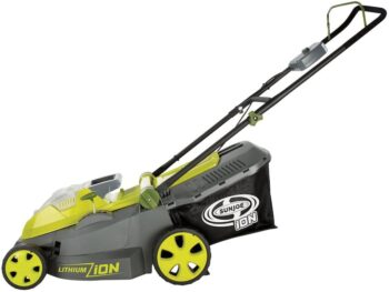 Sun Joe iON16LM 40-Volt 16-Inch Brushless Cordless Lawn Mower