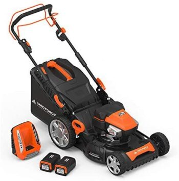 "Yard Force Lithium-Ion 22"" Self-Propelled 3-in-1 Mower"